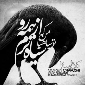 آکورد آهنگ کلاغ رو سیاه از محسن چاوشی